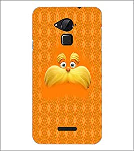 PrintDhaba Mustache D-5053 Back Case Cover for COOLPAD NOTE 3 LITE (Multi-Coloured)