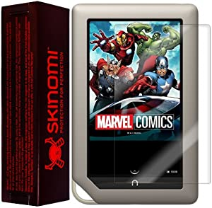 Skinomi® TechSkin - Barnes & Noble NOOK Tablet Screen Protector Premium HD Clear Film with Lifetime Replacement Warranty / Ultra High Definition Invisible and Anti-Bubble Crystal Shield - Retail Packaging