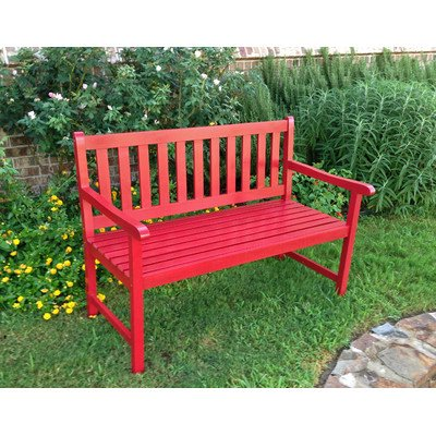 gatepost-bench-4-foot-bench-with-antiqued-paint-finish-red-3525h-x-4825w-x-245d