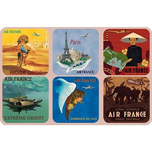 set-of-6-advertising-coasters-for-air-france