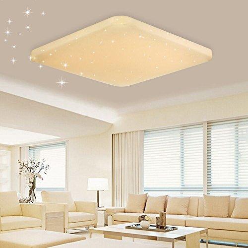 vingo led deckenleuchte sternenhimmel effekt 60w warmwei 2700k 3000k kinderzimmer. Black Bedroom Furniture Sets. Home Design Ideas