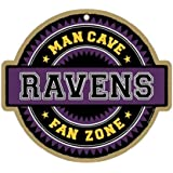 NFL Man Cave Fan Zone Wood Signs