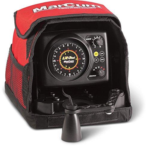 Marcum LX-3tci Sonar Flasher System, Red/Black