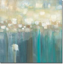 Aqua Light by Karen Lorena Parker Premium Stretched Canvas with hand-painted edging (Ready to Hang)