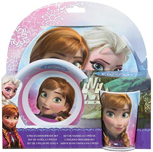 Stor Frozen - Vajilla 3 piezas