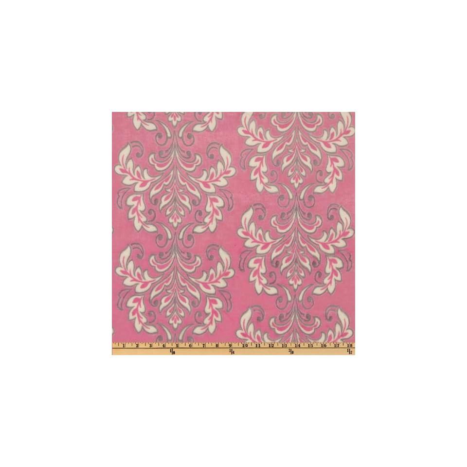 60 Wide Mar Bella Minky Madrid Cuddle Sofia Pink Fabric By The Yard