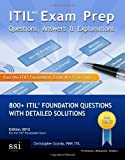 img - for Itil V3 Exam Prep Questions, Answers, & Explanations by MR Christopher Scordo (Nov 6 2009) book / textbook / text book