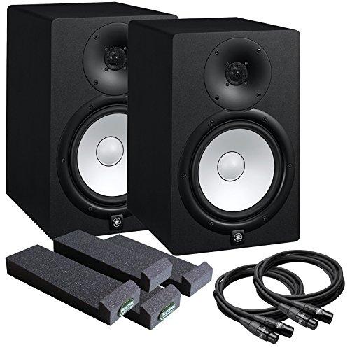 Yamaha hs8 8 studio monitor kit w speaker pair mopads for Yamaha hs8 studio monitor speakers