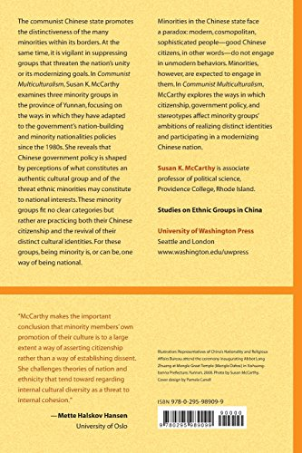 Communist Multiculturalism: Ethnic Revival in Southwest China (Studies on Ethnic Groups in China)