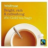 Gold Teabags Waitrose 160 per pack