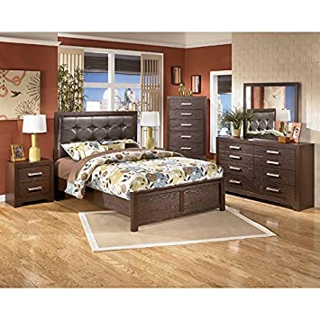 Aleydis Panel Bedroom Set Queen