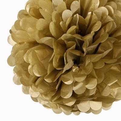 Gold Paper Wedding Flowers (10