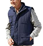 Champion Mens Peak Country Clothing Padded BodyWarmer Gilet Navy L