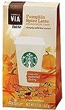 Starbucks Via Ready Brew Pumpkin Spice 5 Single Serve Packets