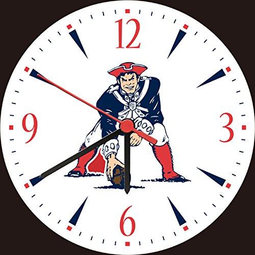 Patriots Wall Clocks New England Patriots Wall Clock