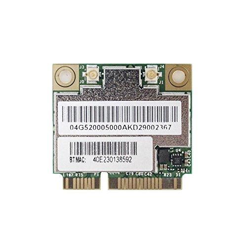AzureWave Broadcom BCM94352HMB/BCM94352 802.11/ac/867Mbps WLAN + BT4.0 Half Mini PCI-E Card, Model: AW-CE123H, PC / Computer e Elettronica