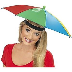 Smiffys Umbrella Hat (Multi-Colour)