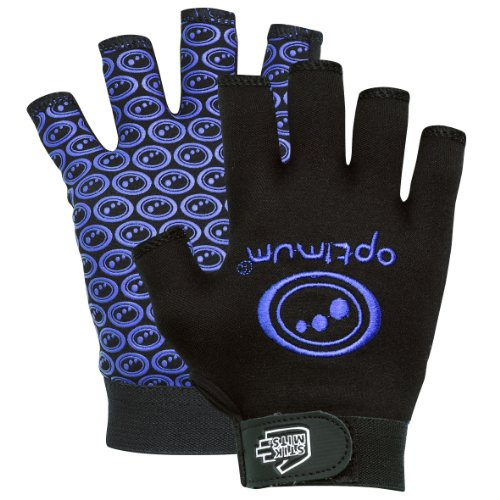 Optimum Skit Mits Rugby Boys Glove - Blue, Large Boys