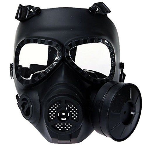 Outgeek Full Face Mask Skull Anti Fog Dustproof Mask Protector Airsoft Mask (Airsoft Gas Mask compare prices)