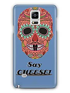 YuBingo Say Cheese Mobile Case Back Cover for Samsung Galaxy Note 4