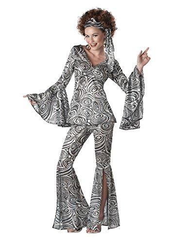 California Fancy dress costumes Girls Plus Size Women's Foxy Lady Disco Fancy dress costume 3X