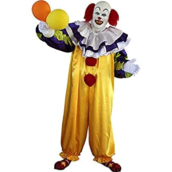 Pennywise Killer Clown Adult Costume