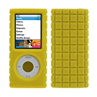 Speck iPod Nano 4G Pixel Skin Case - Yellow