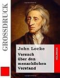 Versuch über den menschlichen Verstand (Großdruck) (German Edition)