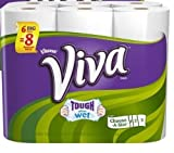 Viva Paper Towels, Choose-a-Size, White, Big Rolls