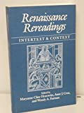 img - for RENAISSANCE REREADINGS: Intertext and Context book / textbook / text book