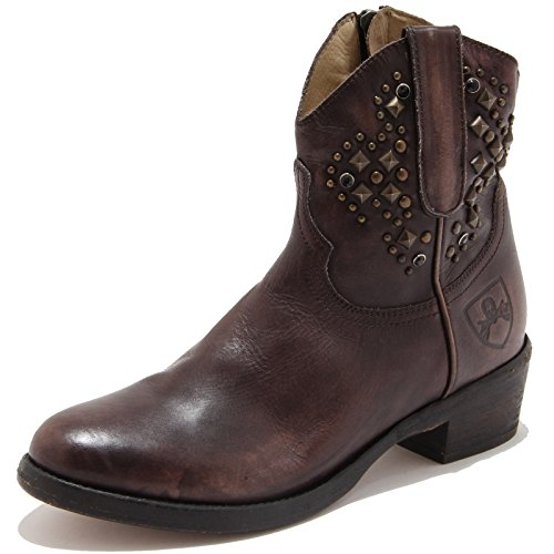 80299 stivaletto texano MR. WOLF scarpa donna boots shoes women [40]