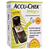 Accu-Chek Integra Glucometer (with 17 Test Strips and 1 Lancing Device)