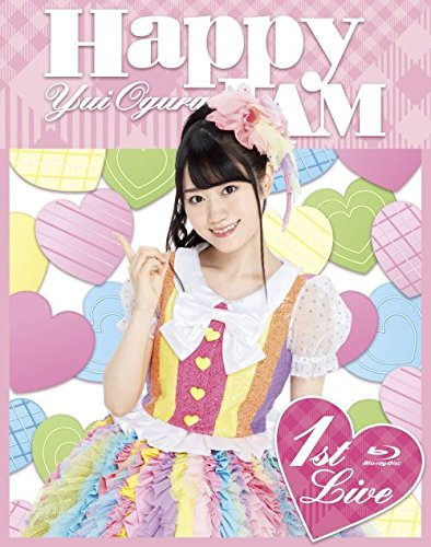 【Amazon.co.jp限定】小倉唯 LIVE 「HAPPY JAM」(オリジナル缶バッジセット付) [Blu-ray]