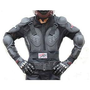 Probiker プロバイカー バイク 上半身プロテクター(肩・肘・胸・脊髄)ハードプロテクションジャケット 並行輸入品 メッシュタイプ L
