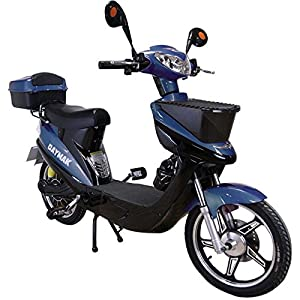 Daymak Vienna Rocket 500W 72V Electric Scooter Bike Bicycle Ebike Moped Blue by Daymak