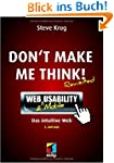 Don't make me think!: Web Usability:...