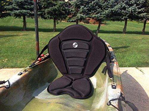 Kerco Angler-x Sit on Top Kayak Seat w/Back Pack Extra Thick Seat Pad (Sit On Top Kayak Seat compare prices)