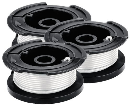 BLACK+DECKER AF-100-3ZP 30-Feet 0.065-Inch Line String Trimmer Replacement Spool, 3-Pack