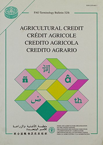 credit-agricole-fao-terminology-bulletin-32-it-a-f-e-i
