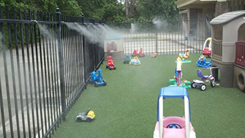 Parts Of A Patio Misting System : Outdoor patio cooling system nozzles do it yourself