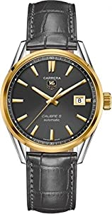 Tag Heuer Carrera Calibre 5 39mm Automatic Men's Watch WAR215C.FC6336