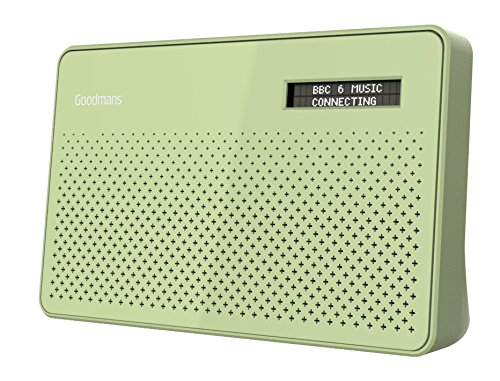 Goodmans Canvas DAB Radio - Apple Green