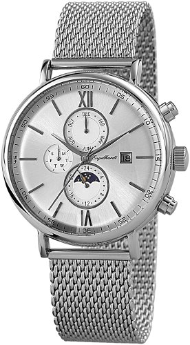 Engelhardt Men's Watch XL Analogue Automatic 387722528018 Stainless Steel