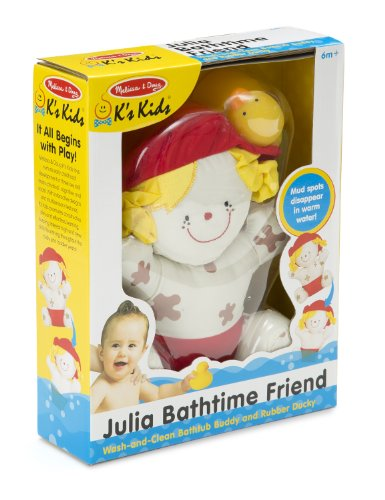 Melissa & Doug K's Kids Julia Bathtime Friend