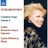Tchaikovsky: Vol. 5-Complete Songs