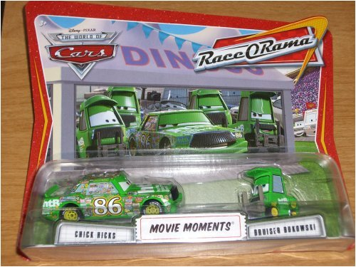 Buy Low Price Mattel Disney / Pixar CARS Movie Moments 1:55 Die Cast Figure 2-Pack Series 4 Race-O-Rama Chick Hicks and Bruiser Bukowski (B002NDM5EG)