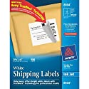 Avery® White Shipping Labels for Inkjet Printers with  TrueBlock(TM) Technology, 3-1/3 inches x 4 inches, Pack of 150 (8164)