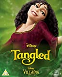 Tangled [Blu-ray] Disney Villains O-Ring Slipcover Edition UK Import (Region Free) Disney Classics #50