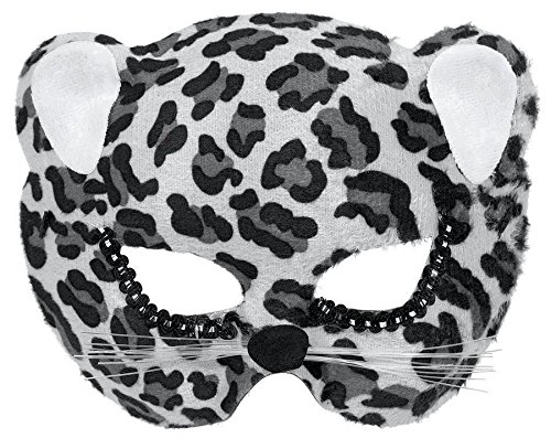 mask jungle cat black