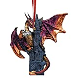 Zanzibar, the Gothic Dragon 2012 Holiday Ornament